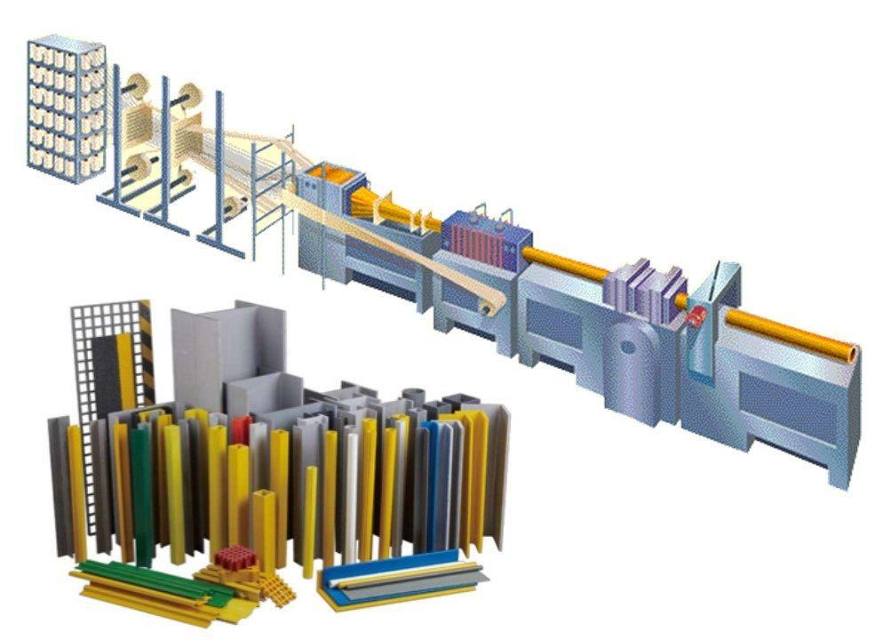 Применение метода пултрузии в производстве