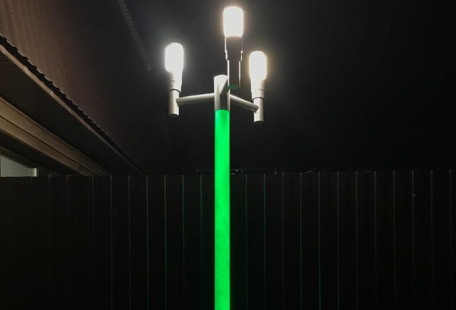 Светящиеся опоры Renotek в Казани